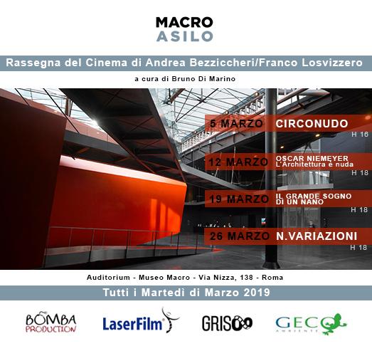 Rassegna a cura di Bruno Di Marino Tutti i Martedì di Marzo 2019   MUSEO MACRO ASILO  Per la prima volta vengono presentati in uno stesso spazio, […]