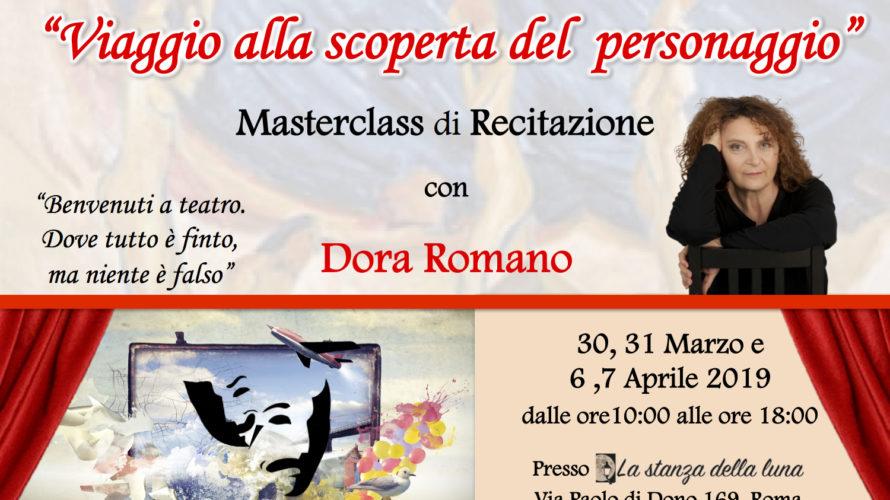 Il 30, 31 marzo e il 6,7 aprile 2019 dalle ore 10:00 alle ore 18:00 presso La Stanza della Luna in Via Paolo di Dono 169 a Roma, si terrà […]