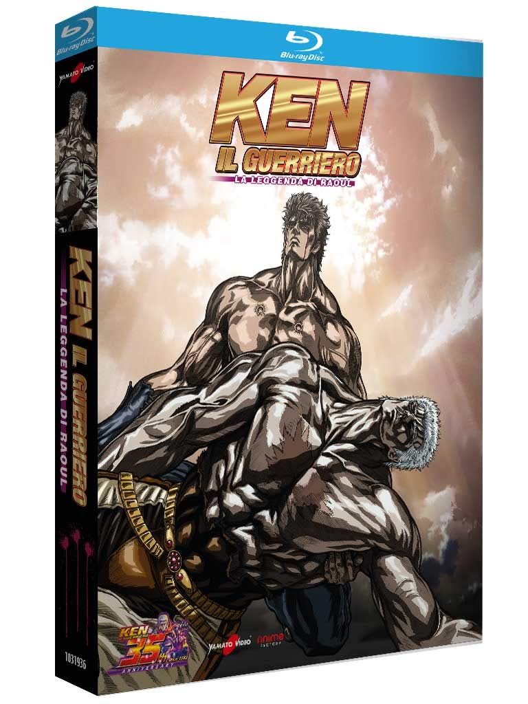 In blu ray il sanguinoso scontro di ken il guerriero la leggenda