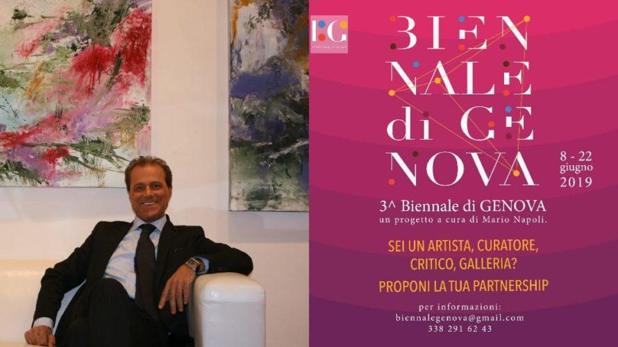 E' partita oggi sabato 8 giugno la 3ª edizione della Biennale dell'arte contemporanea a Genova. A tale proposito voglio parlarvi di uno dei protagonisti di questa Biennale: Mario Napoli. Conobbi […]