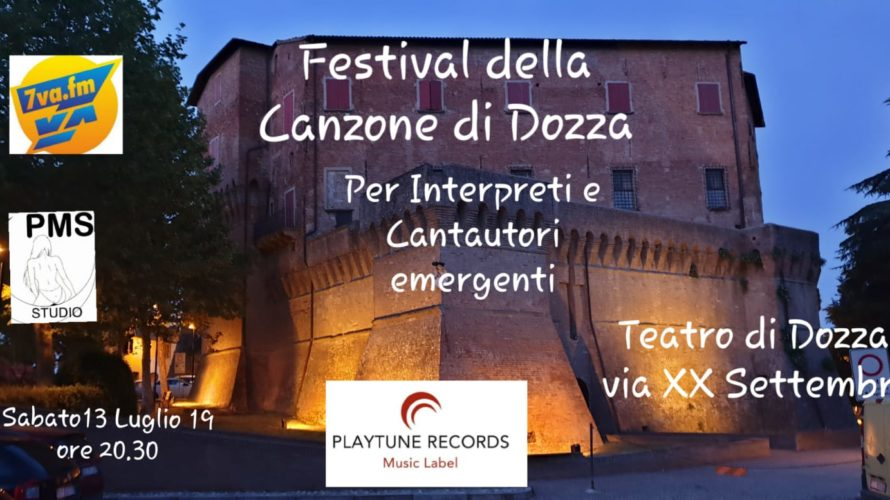 di Patrizia Faiello Nella splendida cornice della Rocca di Dozza, sabato 13 Luglio 2019 alle ore 20.30 si terrà il Festival della Canzone di Dozza per cantautori ed interpreti . […]