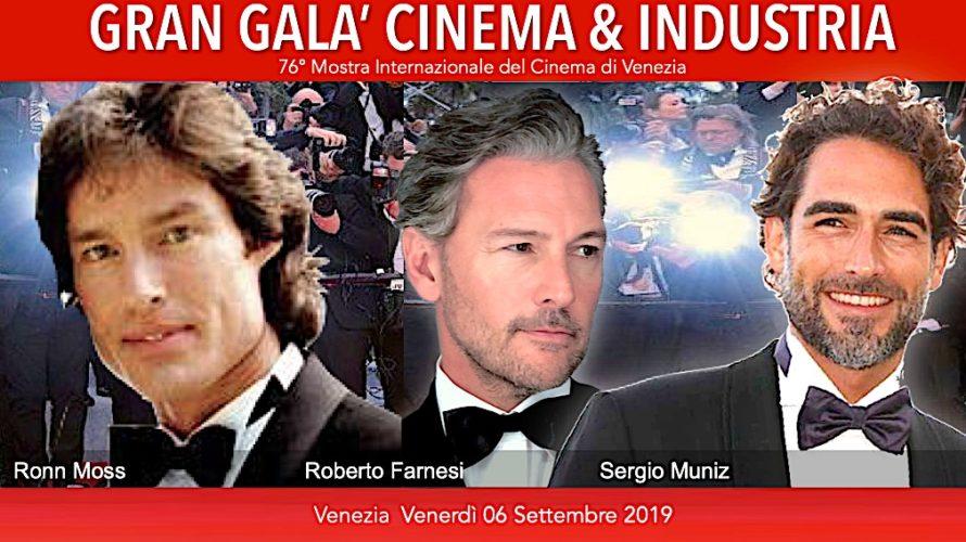 Venerdì 6 settembre 2019, sulla Terrazza Biennale della settantaseiesima Mostra Internazionale d'Arte Cinematografica di Venezia, si terrà la nuova edizione del Gran Galà Cinema e Industria organizzato da Bros Group […]