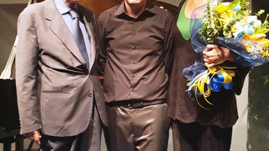 Strepitoso concerto di Emauele Frenzilli tenutosi presso l'Auditorium della Banca d'Italia in Roma, al Piano recital, presentato dalla pianista Gabriella Artale. Un programma sfidante, scelto con cura dall'artista e che […]