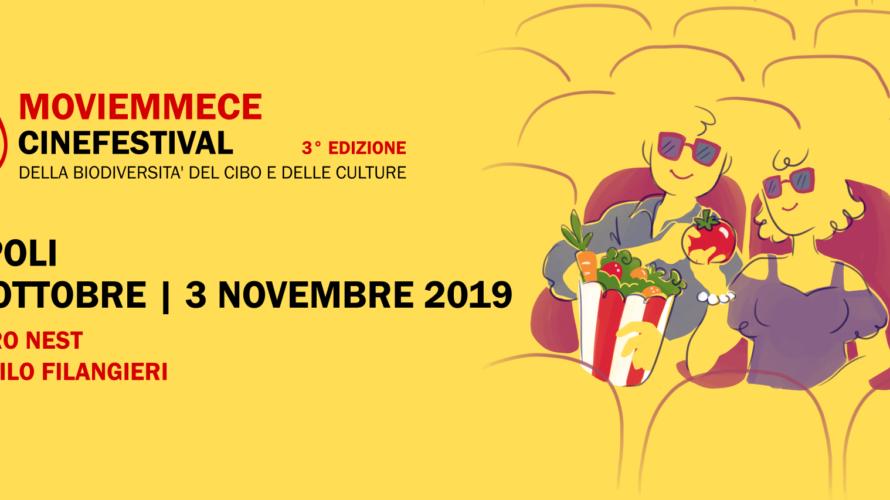 Anche quest'anno torna Moviemmece, il cinefestival della biodiversità del cibo e delle culture in programma a Napoli dal 25 ottobre al 3 novembre 2019, organizzato dall'associazione Fuori dal Seminato in […]