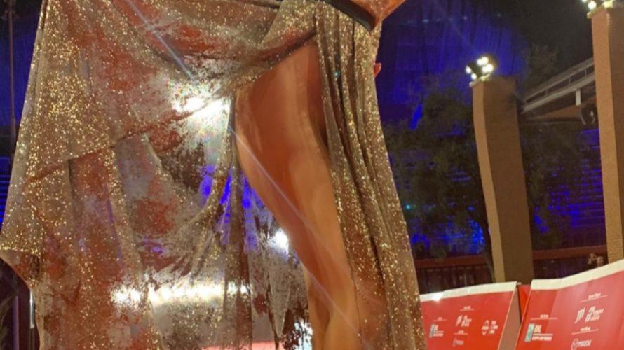 Francesca Giuliano ha colpito ancora! La nostra super Francesca ha conquistato anche il red carpet della festa internazionale del cinema di Roma. Prima di passeggiare sul famosissimo Red Carpet romano, […]