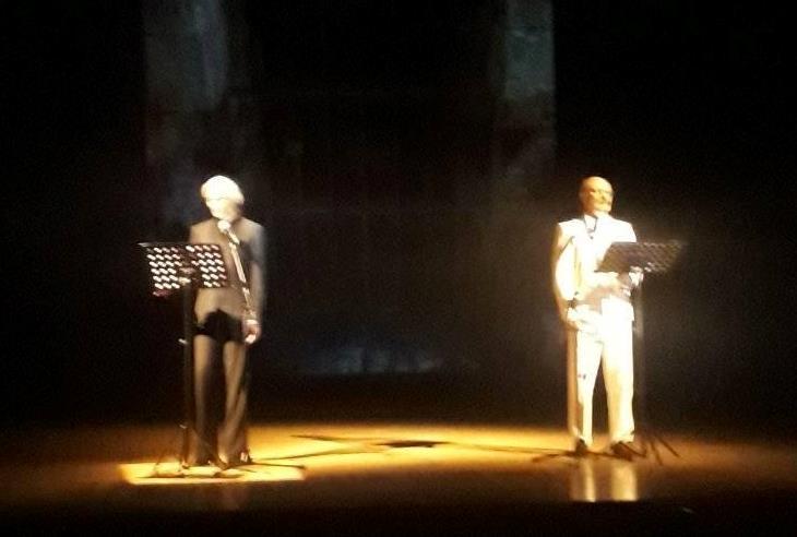 """E' andato in scena lo scorso 27 novembre al Teatro Palladium di Roma la prima nazionale assoluta di """"Leonora e il Bianco"""" di e con Isabel Russinova e Gianluca Enria, […]"""