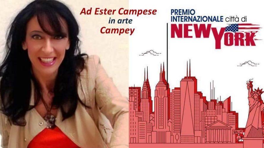 Tra riconoscimenti e premi apre sotto i migliori auspici l'anno artistico 2020 della pittrice Ester Campese conosciuta in arte con il nome di Campey. Ancora una volta le viene riconosciuto […]