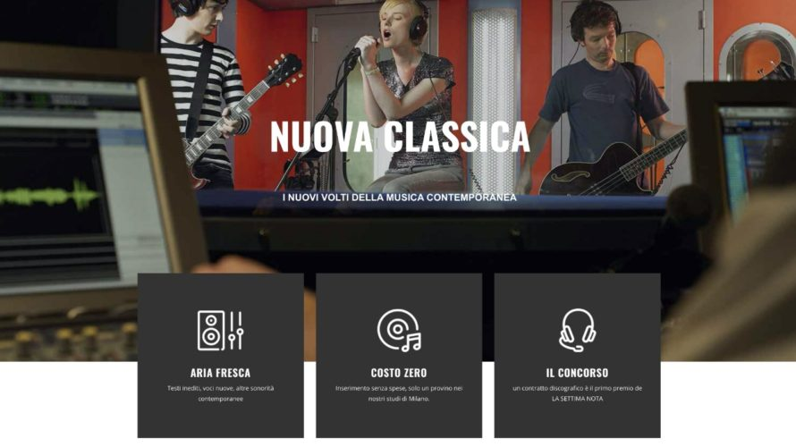Finalmente, dopo quasi due anni di lavoro, è nato il nuovo portale di musicaNUOVACLASSICA.IT. Ideato da un gruppo di professionisti del settore discografico, editoriale e di comunicazione strategica,nuovaclassica.ithacomemissionquella di offrire […]