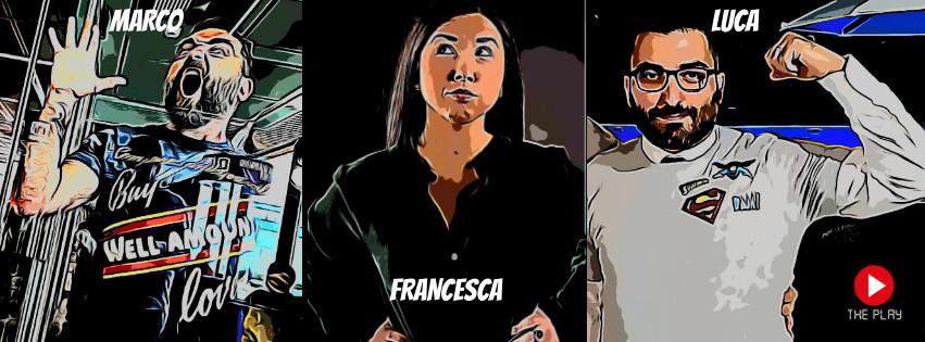 Il gruppo THE PLAY nasce con l'intento di realizzare video comici, e non solo, per il web. Gli ideatori del gruppo sono Luca Giacomozzi, autore e regista, Francesca Pausilli, attrice, […]