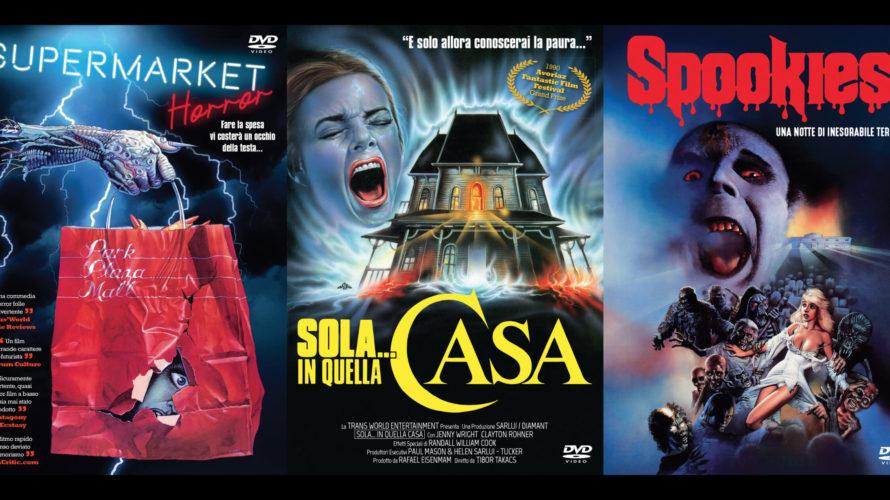 Spaghetti Pictures Italia è lieta di annunciare che saranno disponibili in dvd, a partire dal 7 Settembre 2020, Supermarket horror, Spookies e Sola… in quella casa, tutti sotto etichetta Serendipity. […]