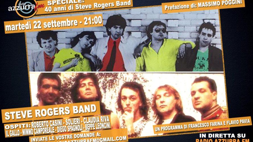Steve Rogers Band è la band nata su forte desiderio di Vasco Rossi e del produttore Guido Elmi (Steve Rogers) durante le registrazioni dell'album Colpa d'Alfredo, ed il relativo tour, […]