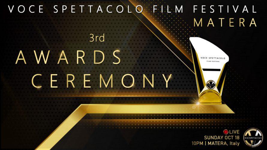 VOCE SPETTACOLO FILM FESTIVAL 2020: Tutti i Vincitori Si è conclusa ieri sera la 3a edizione del Voce Spettacolo Film Festival con la cerimonia di premiazione trasmessa in Prima […]
