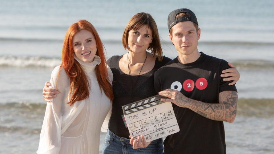 Sono iniziate a Roma le riprese del teen movie Time is up diretto da Elisa Amoruso, con Bella Thorne, attrice americana amata dal pubblico, e Benjamin Mascolo, popstar musicale da […]