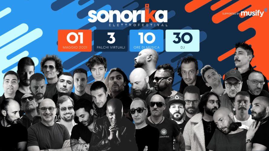 Sabato 1 maggio il set virtuale con 3 palchi sul sito www.sonorika.com   Trenta dj e producer si riuniranno virtualmente sabato 1 maggio per il Sonorika ElettroFestival, alternandosi nei […]