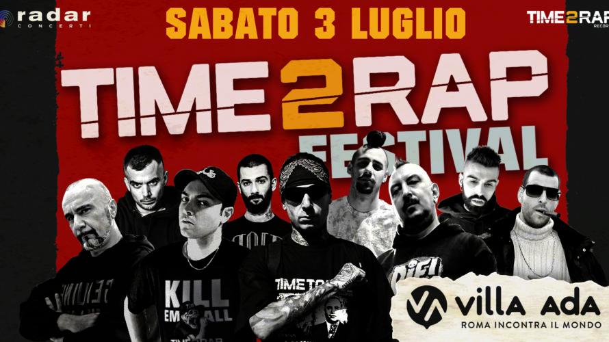 """Al via sabato 3 luglio """"Time 2 Rap Festival"""", il primo evento dal vivo firmato Time 2 Rap Records in collaborazione con Radar Concerti. La neonata etichetta romana dedicata al […]"""