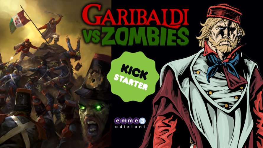 """Con Garibaldi vs zombies Andrea Guglielmino (storia) e Fabrizio De Fabritiis (disegni e colori) ci portano a riscoprire la figura di Giuseppe Garibaldi in una nuova versione """"supereroistica"""" e tamarrissima. […]"""