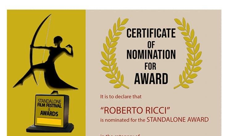 """Il parrucchiere scrittore Anconetano Roberto Ricci, meglio conosciuto come """"il parrucchiere del brivido"""", è stato candidato come miglior sceneggiatore per il cortometraggio È SOLO UN GIOCO di Leonardo Barone allo […]"""
