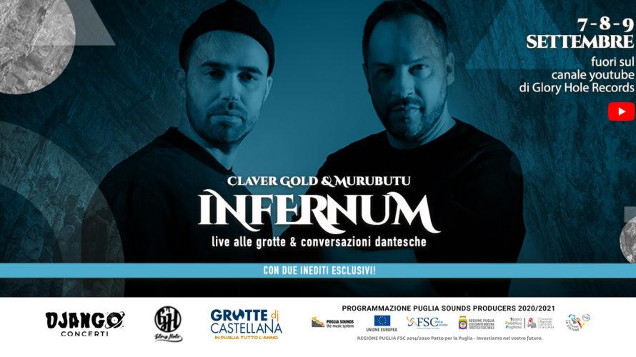 """""""Infernvum alle Grotte e conversazioni dantesche"""" è titolo dell'evento gratuito in streaming, che vedrà protagonisti in concerto i rapper Claver Gold e Murubutu dal 7 al 9 settembre alle ore […]"""