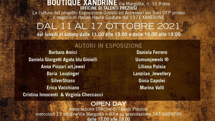 Roma Jewelry Weekapre la suaprima edizioneal pubblicodall'11 al 17 ottobre 2021. L'evento internazionale valorizza e diffonde la cultura del gioiello contemporaneo, d'autore, d'artista e delle realtà orafe storiche e ha […]