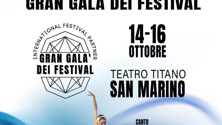 """La Repubblica di San Marino ospiterà, dal 14 al 16 ottobre prossimi, la decima edizione dell'International Festival Partner """"Gran Galà dei Festival"""", un concorso artistico al quale gli organizzatori di […]"""